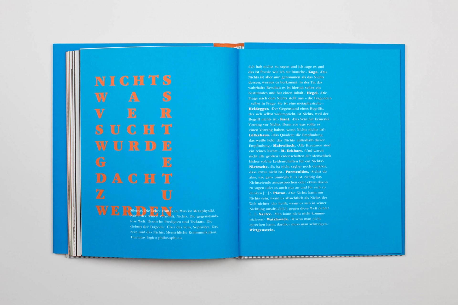 Büro Hyngar Dieses Buch führt zu Nichts