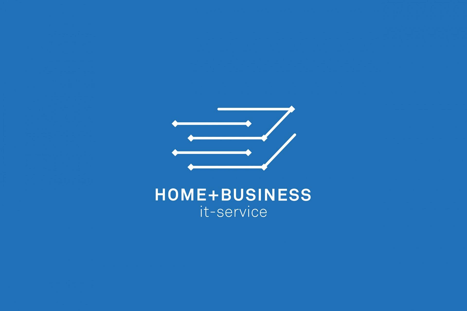 Büro Hyngar Visuelle Identität für H+B IT-Service GmbH