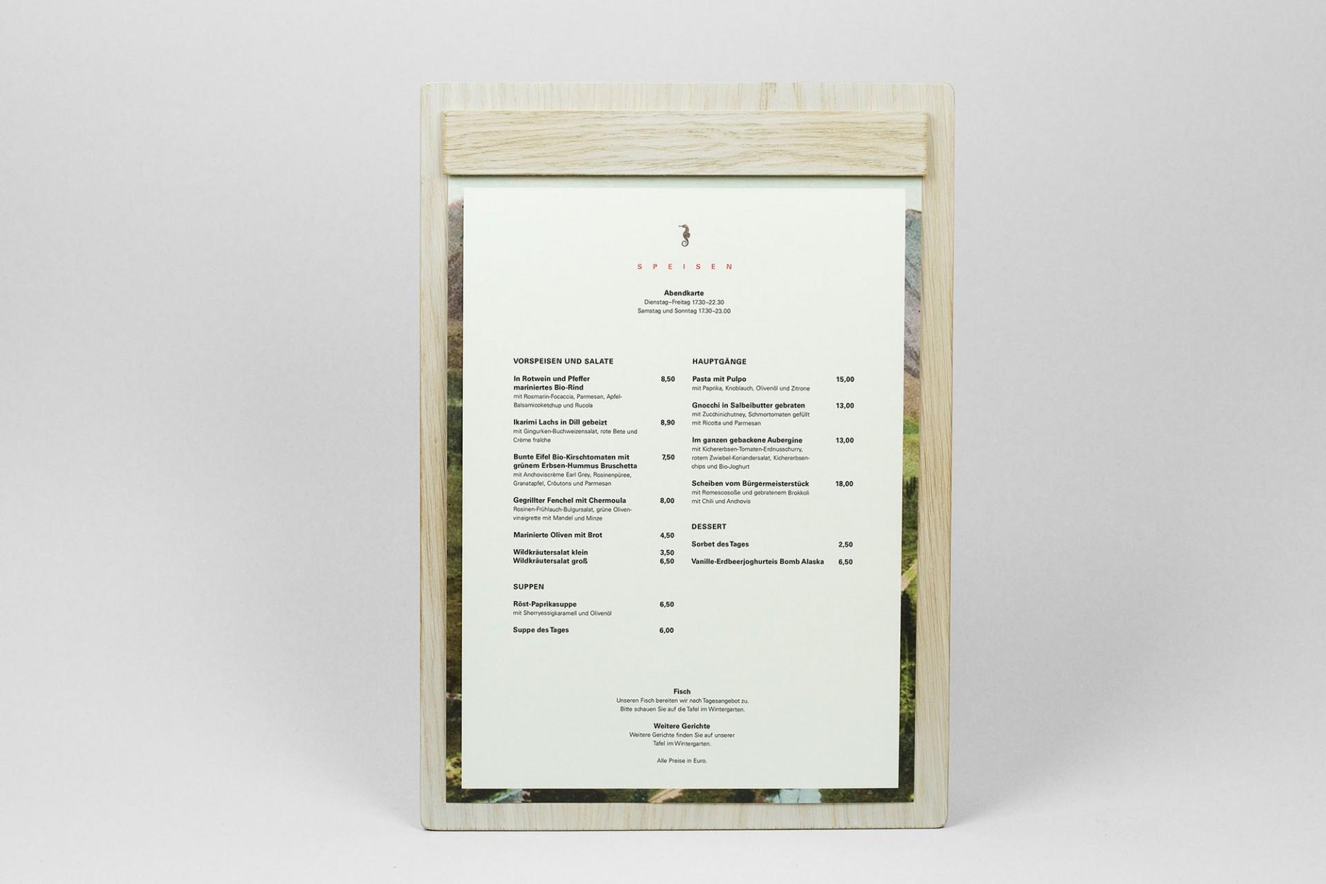 Büro Hyngar Visuelle Identität für das Café Sehnsucht