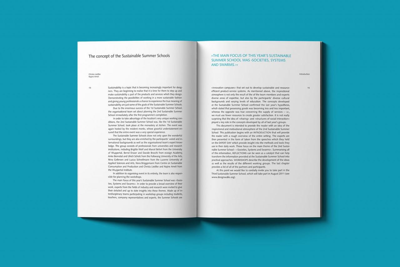 Büro Hyngar Booklet für die 2nd Sustainable Summer School