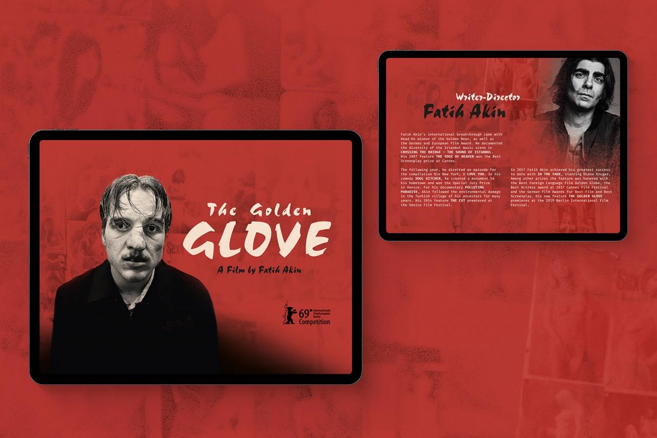 Büro Hyngar Digitales Presseheft für den Film »Der Goldene Handschuh«