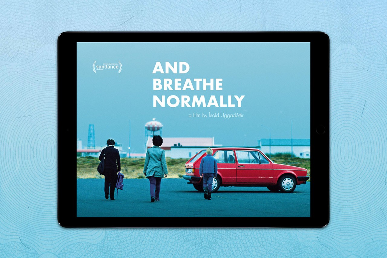 Büro Hyngar Digitales Presseheft für den Film »And Breathe Normally«