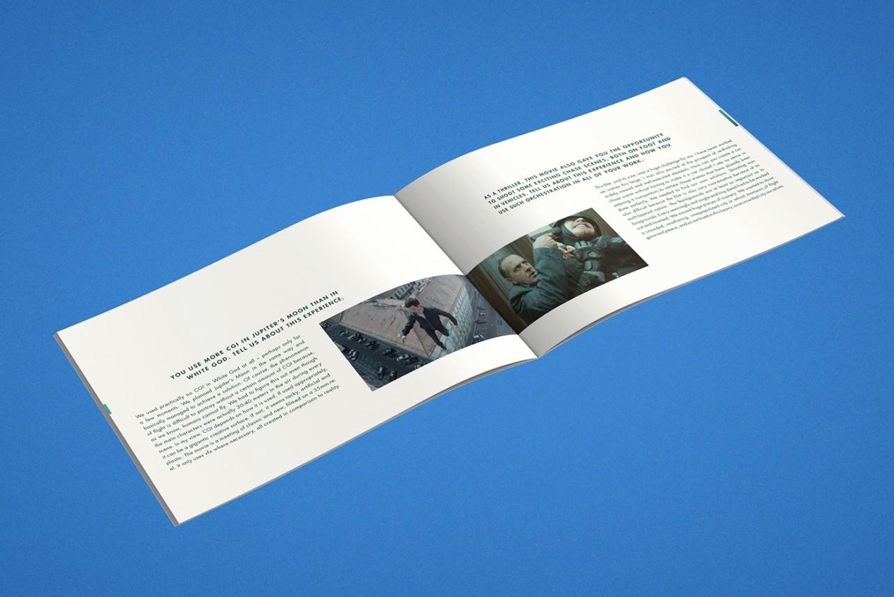 Büro Hyngar Presseheft für den Film »Jupiter's Moon«